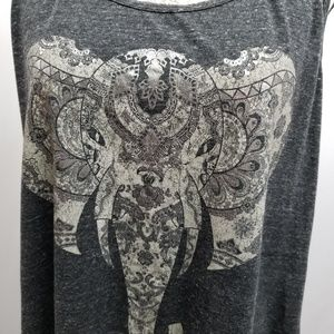 Maurices Tops - Maurices Plus Size Graphic Tank 0 (0X)
